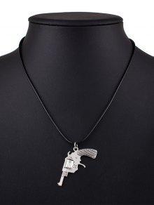 Collar De La Aleación De Pistola - Negro