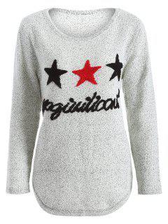 Étoile Panttern Sweatshirt - Gris