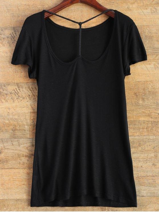 Correa Frente camiseta básica - Negro L