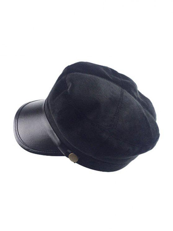 online Winter Outdoor Warm Military Baseball Cap - BLACK