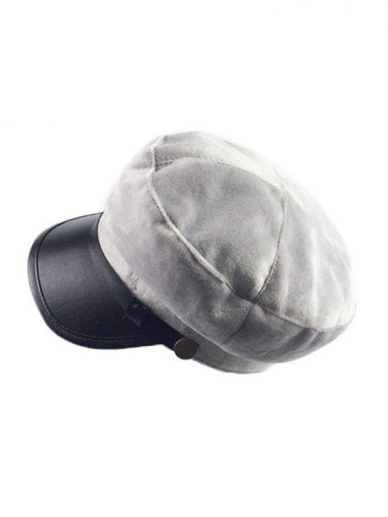 new Winter Outdoor Warm Military Baseball Cap - GRAY