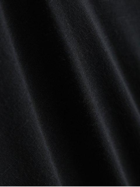 T-shirt manches courtes - Noir L Mobile