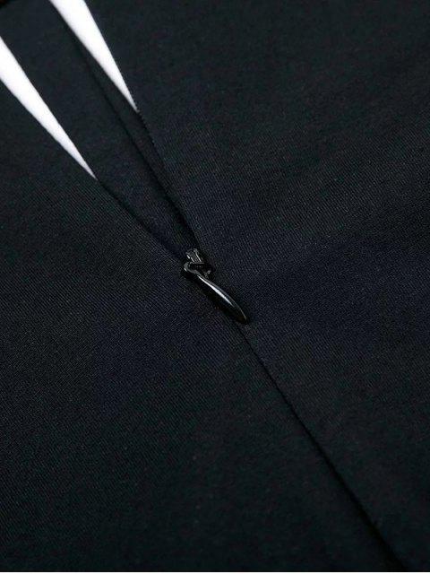 Body col à découpe effet collier ras du cou - Noir M Mobile