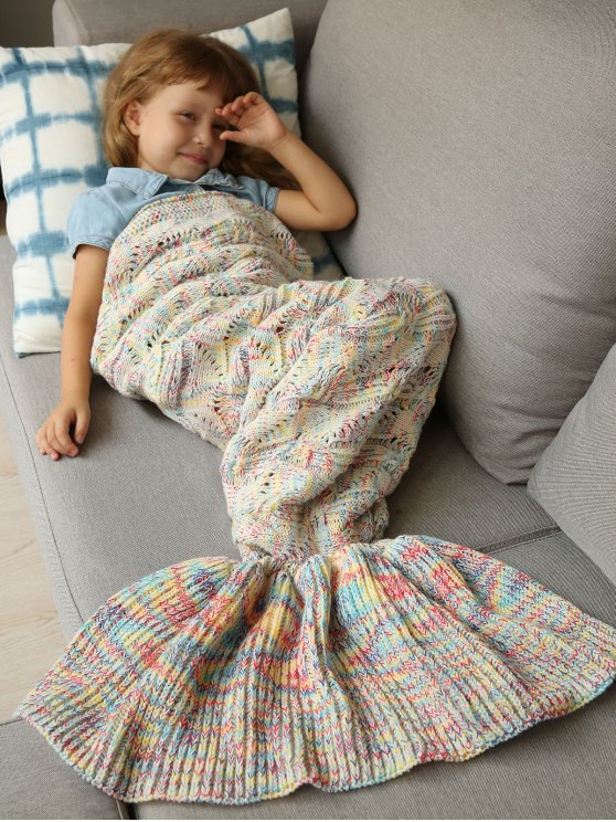 outfit Sleeping Bag Bedding Mermaid Blanket - COLORMIX
