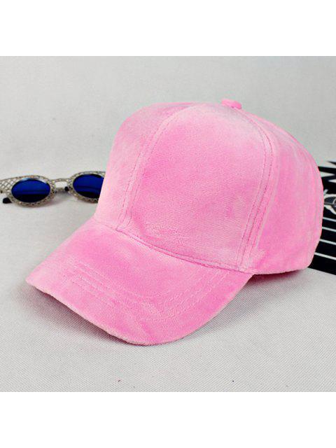 buy Lovers Adjustable Velvet Baseball Hat -   Mobile