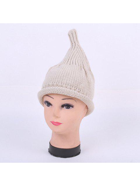 new Winter Teat Shape Knit Hat - LIGHT GRAY  Mobile