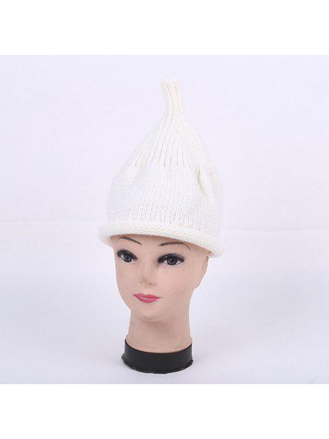 hot Winter Teat Shape Knit Hat - WHITE  Mobile