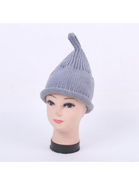 outfit Winter Teat Shape Knit Hat - GRAY  Mobile