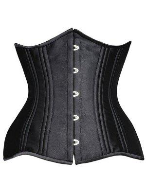 Steel Boned Underbust Lace-Up Corset