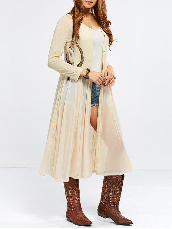 latest Duster Cardigan - NUDE ONE SIZE