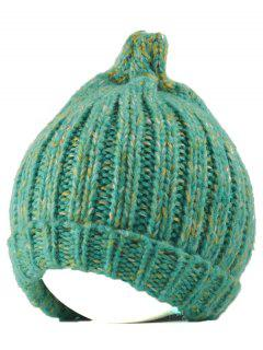 Knitting Patterns Chunky Crochet Tapered Hat - Mint Green