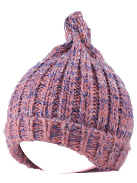 unique Knitting Patterns Chunky Crochet Tapered Hat - PINK  Mobile