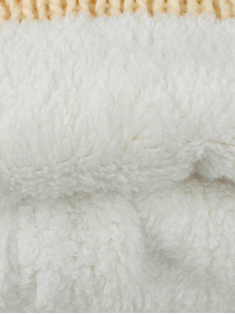 buy Knitting Patterns Eyes Pom Hat - CADETBLUE  Mobile