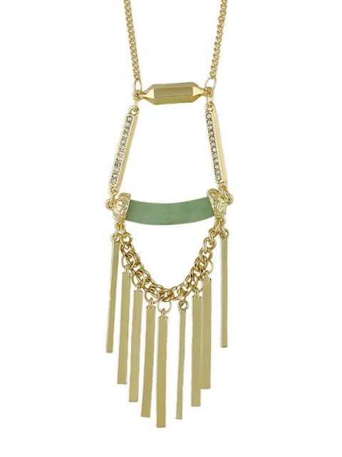 outfits Hollow Geometric Necklace -   Mobile