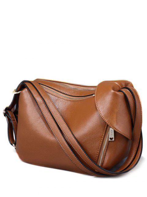 buy Convertible Textured PU Leather Shoulder Bag -   Mobile