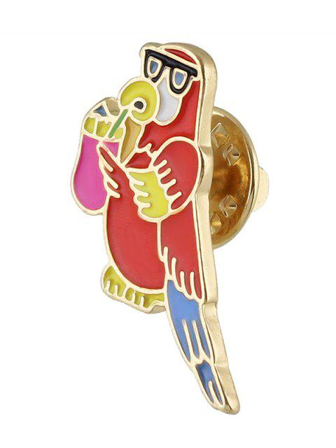 women Adorn Bird Brooch -   Mobile