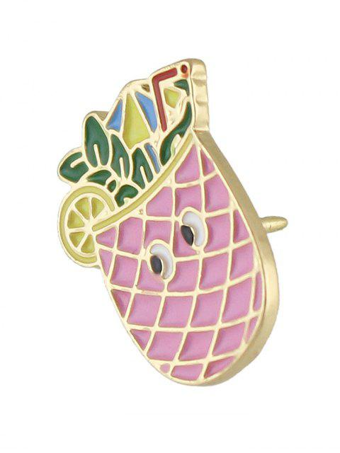online Adorn Pineapple Brooch - PINK  Mobile
