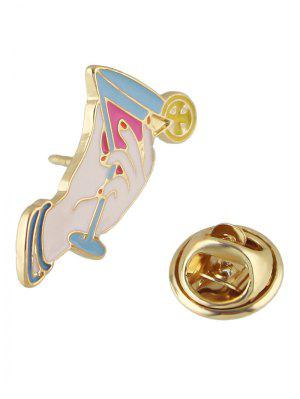 Broche ornementale de coupe