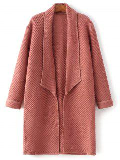 Shawl Open Front Cardigan - Spice