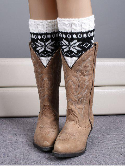 best Christmas Snowflake Boot Cuffs -   Mobile