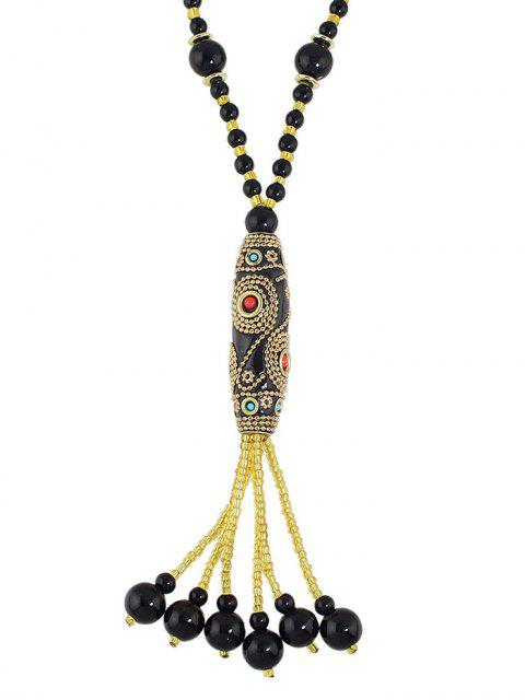 best Bohemian Style Beads Necklace -   Mobile