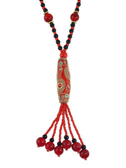 new Bohemian Style Beads Necklace -   Mobile