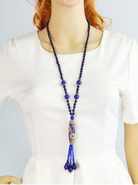 outfits Bohemian Style Beads Necklace -   Mobile