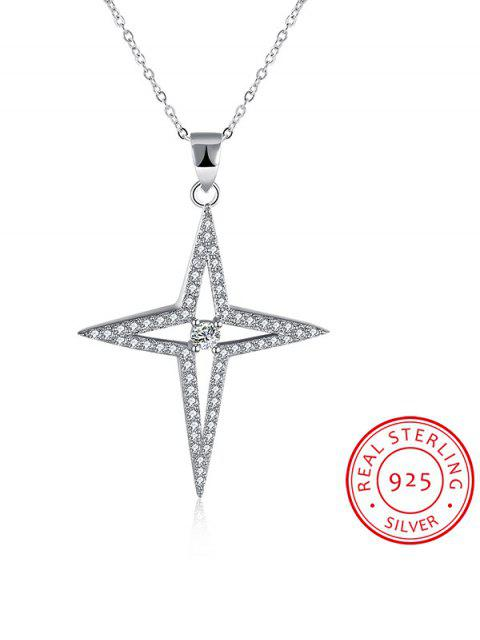 sale North Star S925 Diamond Necklace -   Mobile