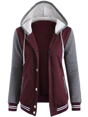 Varsity Baseball Fleece-Jacke
