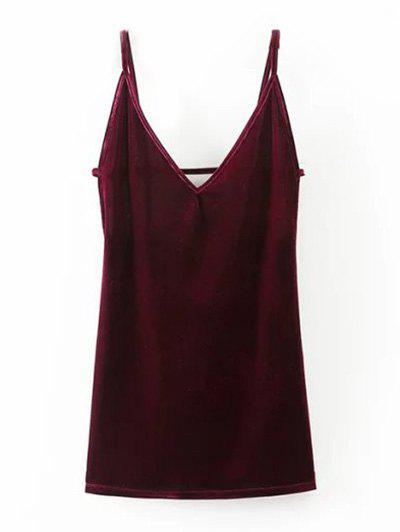 Bodycon Velvet Slip Robe courte