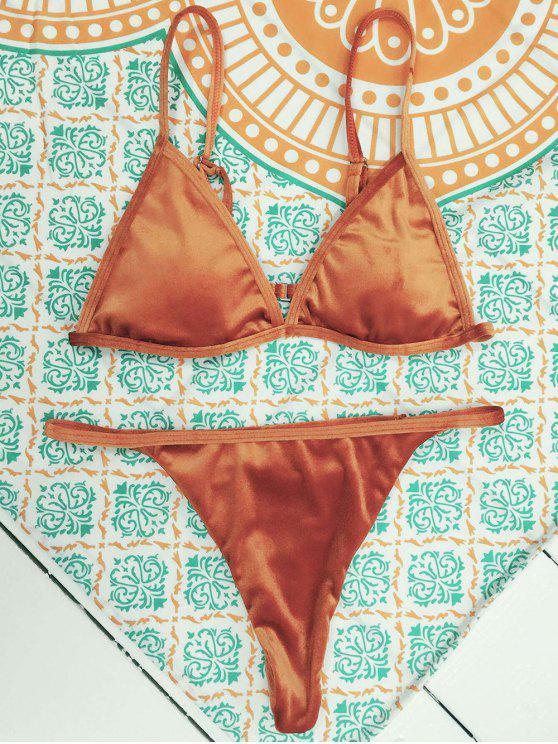 best Velvet Reversible Bikini Set - JACINTH S