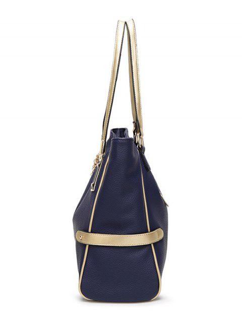affordable Chains Pendant PU Leather Shoulder Bag -   Mobile