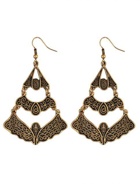 fashion Hollow Out Butterfly Earrings -   Mobile