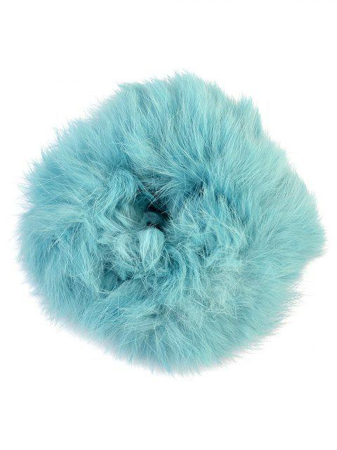 shops Furry Ball Elastic Bracelet - BLUE  Mobile