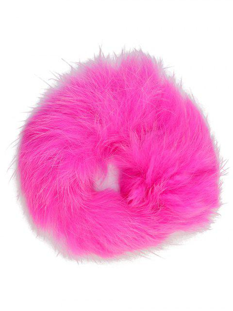latest Furry Ball Elastic Bracelet - PINK  Mobile