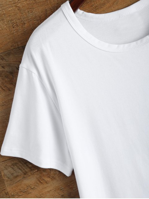 Jewel Neck Sivan 95 T-shirt - Blanc L Mobile