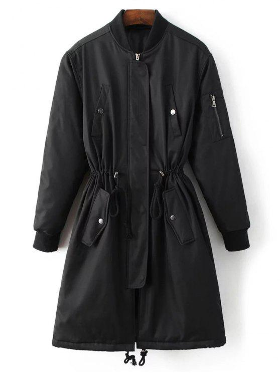 outfit Skirted Utility Coat - BLACK M