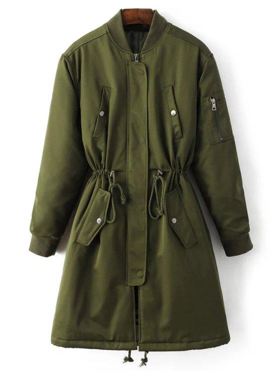 shops Skirted Utility Coat - ARMY GREEN M