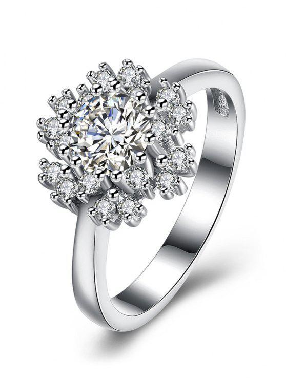 bague diamant flocon