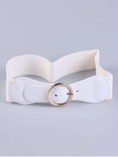sale Bowknot Round Buckle Elastic Belt -   Mobile