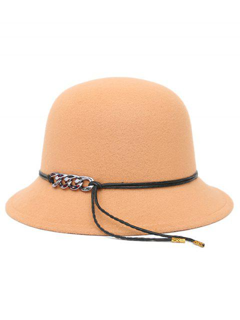 outfits PU Rope Dome Hat -   Mobile