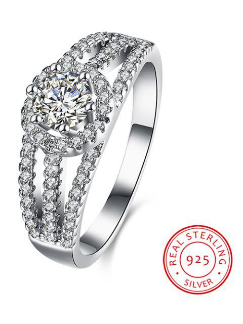 lady S925 Diamond Layered Ring -   Mobile