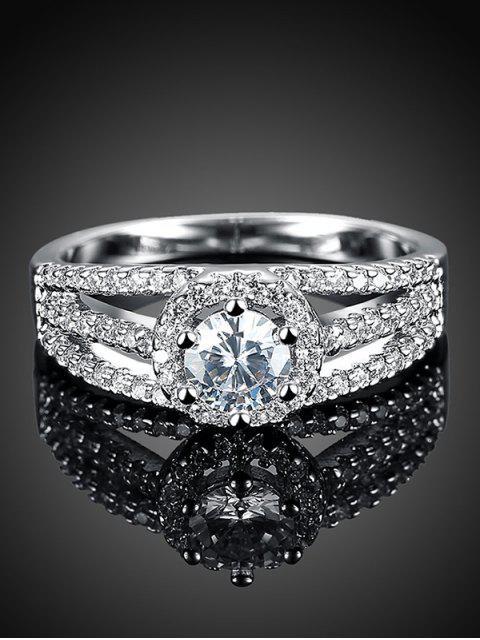 ladies S925 Diamond Layered Ring -   Mobile
