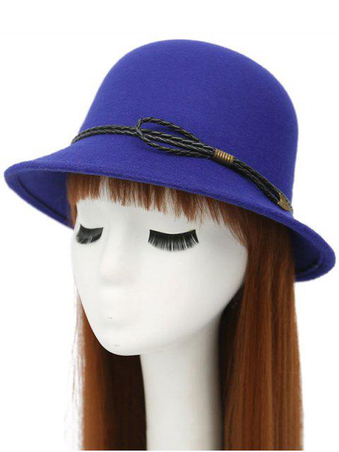 affordable PU Rope Arrow Dome Hat - ROYAL  Mobile