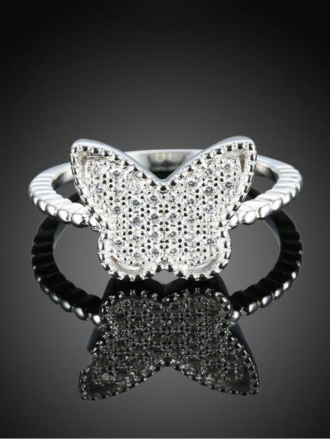 chic Butterfly S925 Diamond Ring -   Mobile