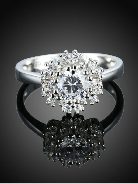 fancy Snowflake S925 Diamond Ring -   Mobile