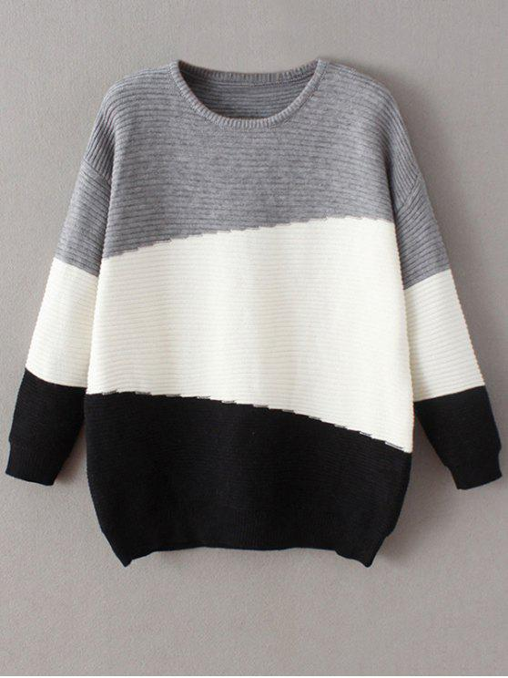 Oversized Comfy Sweater BLACK: Sweaters ONE SIZE | ZAFUL