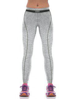 Yoga Del Bloque Del Color De Los Pantalones Deportivos - Negro M
