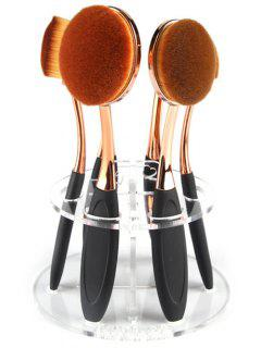 Makeup Toothbrush Brush Stand - Transparent
