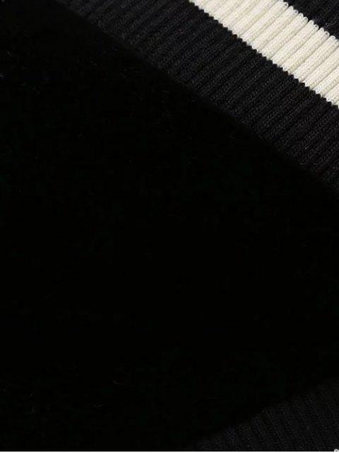 hot Double Side Sukajan Jacket - BLACK L Mobile